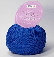 Пряжа Сеам Baby Cotton Синий