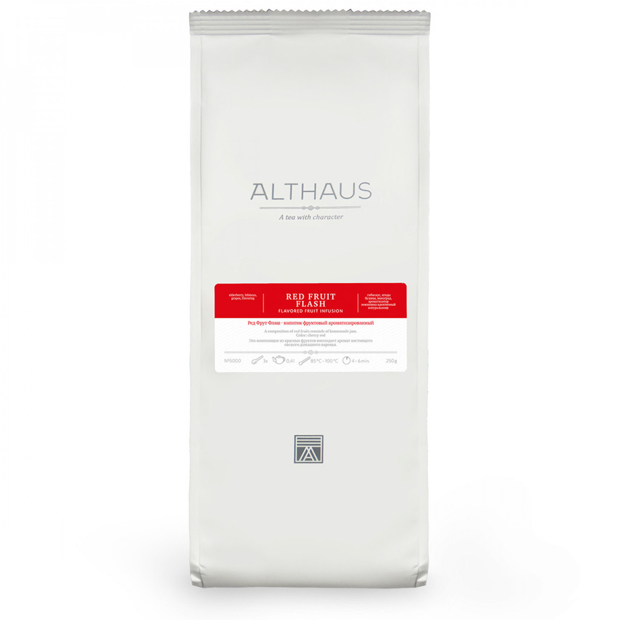 Чай Althaus Red Fruit Flash 250г(6) листовой чай розница опт