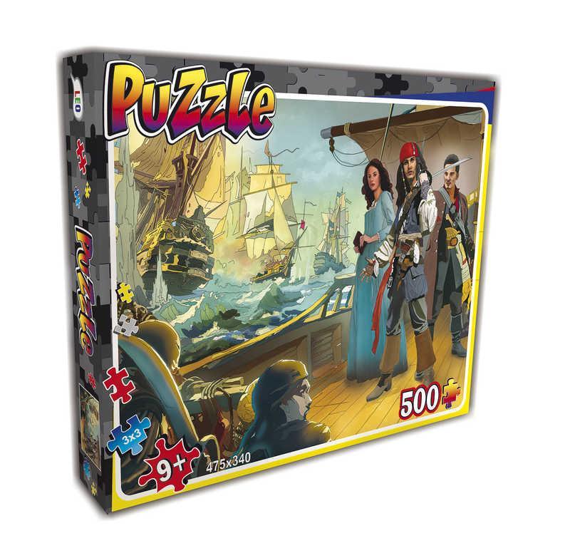 """Гр Пазлы 500 эл. """"Пираты"""" 22205 (10) """"LEO"""""""
