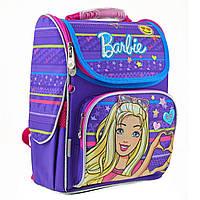 Школьный каркасный ортопедический рюкзак H-11 Barbie