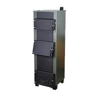 Котел твердотопливный Огонек Котв-30 В кВт ( с водонагревательным контуром )