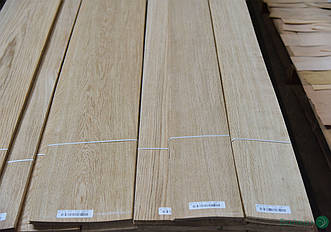 Шпон Дубу - 1,5 мм сорт АВ - від 2,10 м+/10 см+ (натуральний)