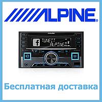 Потужна 2din магнітола Alpine CDE-W296BT. Bluetooth. AUX. 4x50W