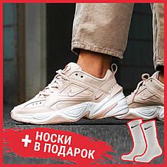 Женские кроссовки Nike WMNS M2K Tekno particle beige/particle beige AO3108-202