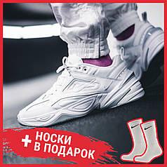 Женские кроссовки Nike M2K Tekno Triple White AV4789-101, Найк М2К Текно