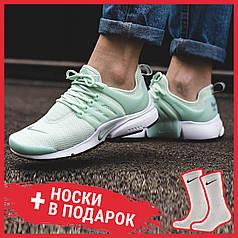 Женские кроссовки Nike Air Presto Green 878068-300, Найк Аир Престо