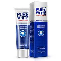 Зубная паста отбеливающая Bioaqua Toothpaste Fresh Mint Pure White (120г), фото 1