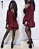 ПЛАТЬЕ Размер .42-46 Ткань: костюмка  Цвет:сиреневый , чёрный, белый, бордо, хаки, беж.(1116), фото 6