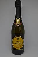 Вино игристое белое сухое Pinot Chardonnay Brut Италия 0.75 л, фото 1