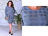 Нарядное женское теплое платье,размеры:50,52,54., фото 6