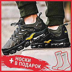 Женские кроссовки Nike Air VaporMax Plus Cargo Khaki 924453-300, Найк Аир Вапор Макс