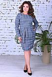 Модное женское теплое платье,размеры:50,52,54., фото 2