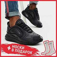 Женские кроссовки Nike Air Max 720 Black Total Eclipse AO2924-004, Найк Аир Макс 720