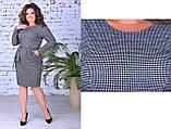 Модное женское теплое платье,размеры:50,52,54., фото 6