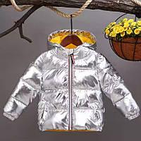 Пуховая курточка детская осень-зима, фото 1
