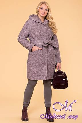 Женское зимнее пальто больших размеров (р. XL, XXL, XXXL) арт. А-37-20/40693, фото 2