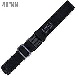 Ремень тактический мягкий (4 см) S.W.A.T. G3 Black