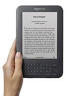 Электронная книга Amazon Kindle 6'' Keyboard (3 gen, 2010) Черный