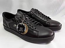 Стильные кожаные кеды,кроссовки Bertoni