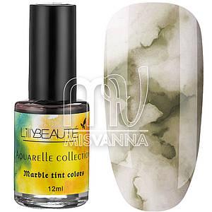 Акварельные капли Aquarelle Collection Lilly Beaute №04, 12 мл горчичный