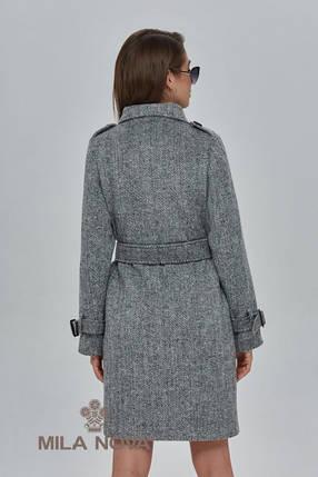 Пальто женское с воротником - стойка 91, фото 2