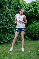 Оригинальные Модные Шорты Для Девочек В Очень Стильном Дизайне С Потертостями И Дырками TIFFOSI, Португалия