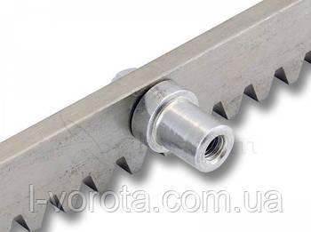 Металлическая зубчатая рейка для ворот Alutech ROA 8