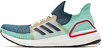 Мужские кроссовки Adidas Consortium Ultra BOOST 2019 Teal Red White EE7516, Адидас Консортиум Ультра Буст