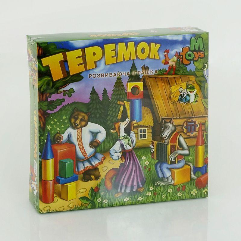 """Гр Теремок в коробке срд. 12084 (5) """"M-TOYS"""""""
