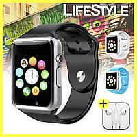 Smart Watch А1 Умные часы + Подарок!! Наушники Apple