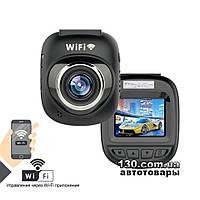 Автомобильный видеорегистратор Carcam T100W с дисплеем и Wi-Fi