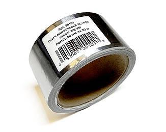 Скотч алюминиевый +PET (защита от УФ) 50 мм х 20 м