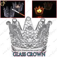 """Стеклянная корона - """"Glass Crown"""" - 2 шт."""