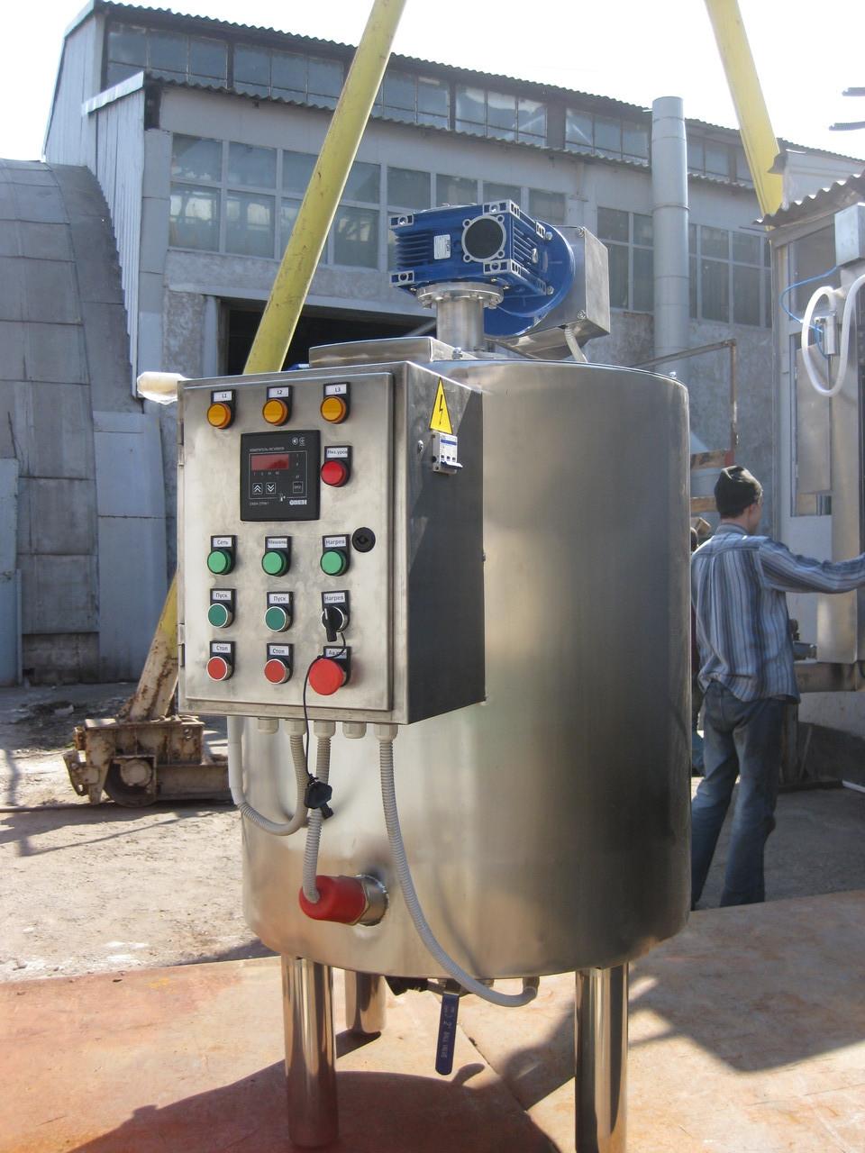 Емкость для плавления косметических компонентов 200 литров
