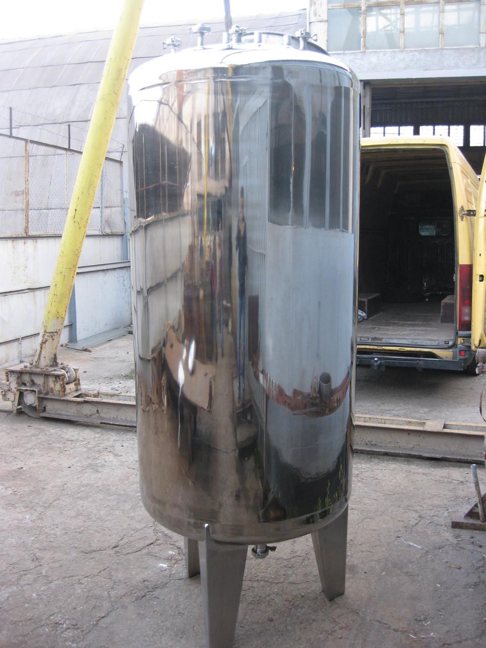 Емкость из нержавеющей стали 2000 литров