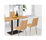 Опора для стола двойная Рона, черный h72см, 40х70 см, фото 3