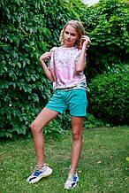 Детская футболка для девочки Byblos Италия BJ3706 Розовый