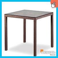 Мебель из ротанга столы, Стол Милан Мебель из ротанга, столы для кафе, ресторана, террасы, сада