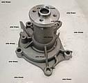 Насос водяной двигателя Mitsubishi 4G64 (1365 грн) MD970338, фото 5