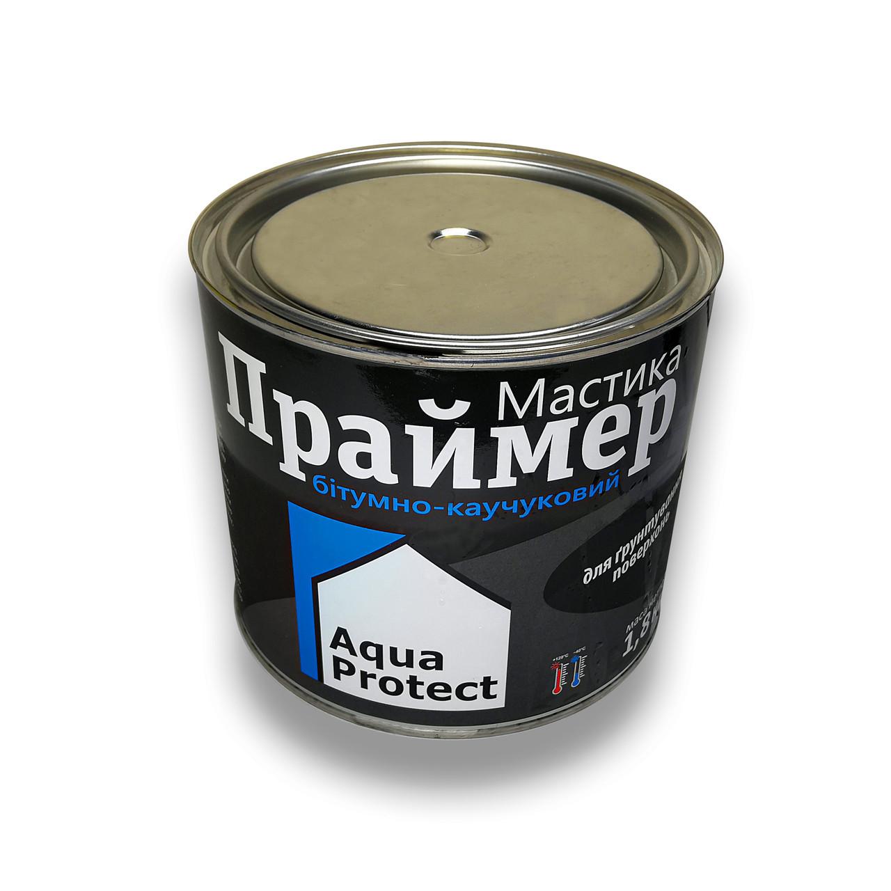 Праймер битумный черный 1,8 кг