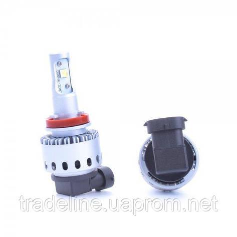 LED лампа RS G8.3 H16 6500K 12-24V (2 шт.), фото 2