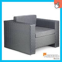 Купить мебель из искусственного ротанга, Кресло Хай-тек. Ротанговая мебель. Оптом от производителя.