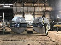 Емкость из нержавеющей стали 5000 литров