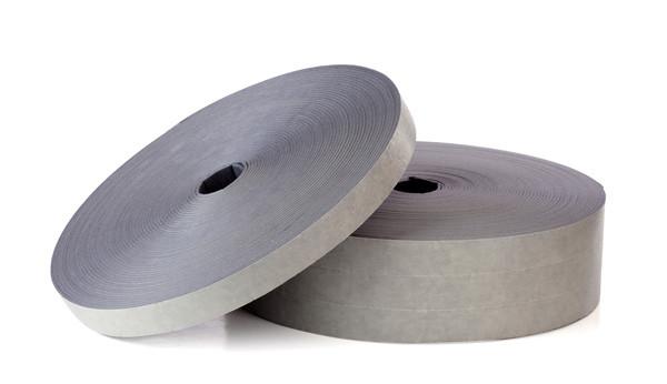 Дихтунг 10 мм х 30 мм х 10 м.п. уплотнительная, звукоизоляционная лента Белый