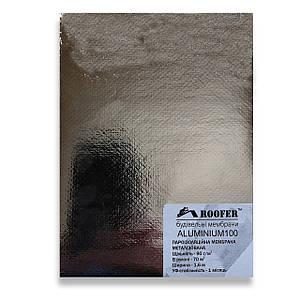 Пароізоляція фольгована (70 м2) 90 г/м2 ALUMINIUM 100 Roofer