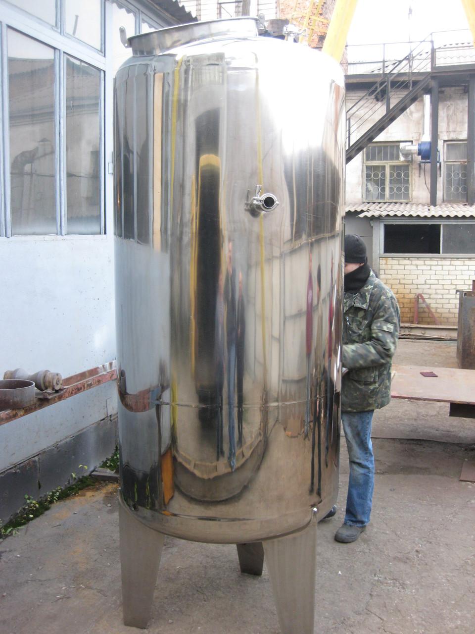 Емкость из нержавеющей стали 10000 литров