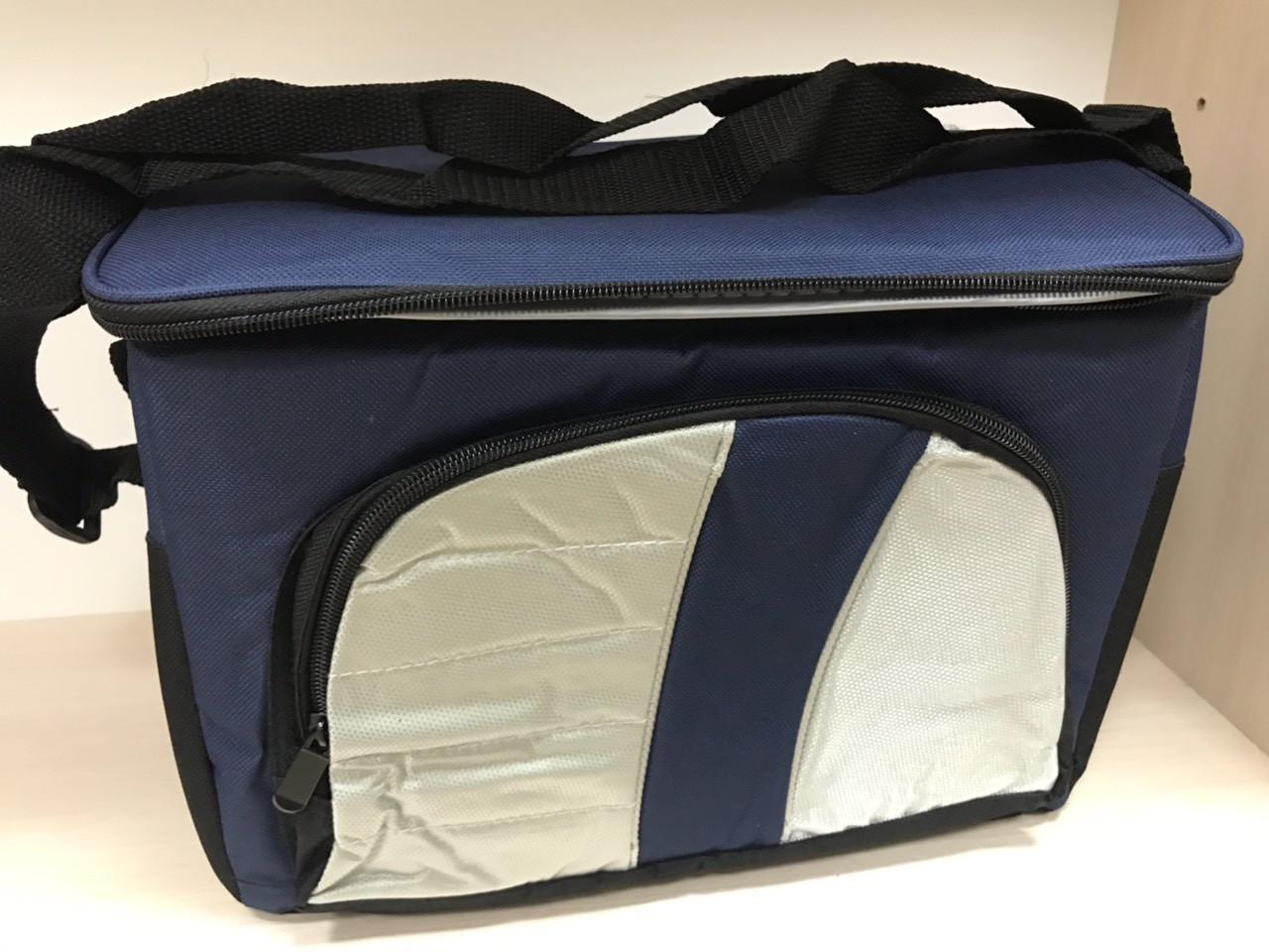 Термосумка Велика на 9 л, сумка холодильник, термобокс Cooling Bag 377 B