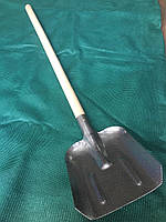 Лопата совкова Розмір полотна 270х240 мм