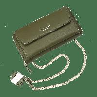 Женский кошелек клатч Baellerry Leather Зеленый. Оригинал!