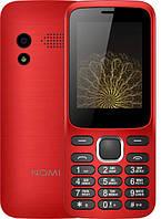 """Кнопочный мобильный телефон Nomi i248 Red красный(2SIM) 2,4"""" 32/32МБ 0.08 Мп 800 мАч Гарантия!"""